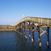 Boardwalk at Westport, WA