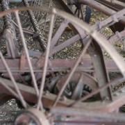 Antique farm machinery, Mount Barker Museum, Western Australia