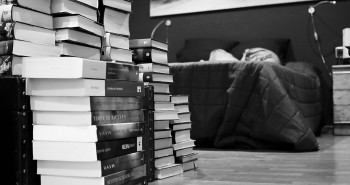 Books Book Reading Literature Bed Read Collection