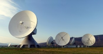 Radar Earth Station in The Middle of Nowhere